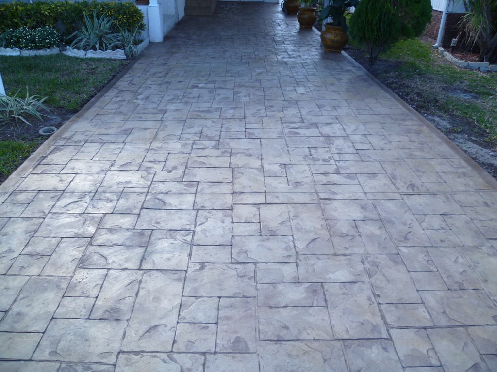 Homepro Connections Find Local Stamped Concrete Driveway